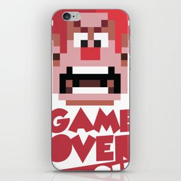 The Game Is Over iPhone Skin