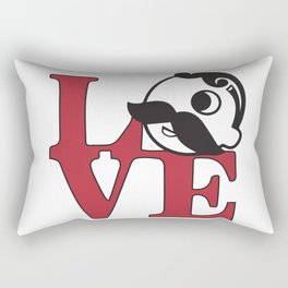 Love Natty Boh Rectangular Pillow