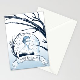 In Mary Shelley We Trust Stationery Cards