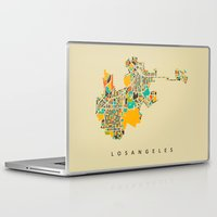 los angeles Laptop & iPad Skins featuring Los Angeles by Nicksman