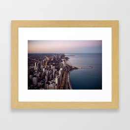 Lake Shore Drive, Chicago, IL Framed Art Print