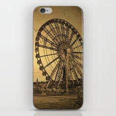 Ferris Wheel, Paris iPhone & iPod Skin