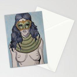 Snake Scarf Stationery Cards