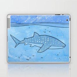 Whale shark and stars Laptop & iPad Skin