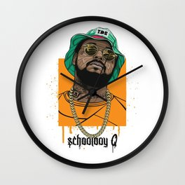 Schoolboy Q Wall Clock