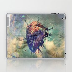 Damaged Heart Laptop & iPad Skin