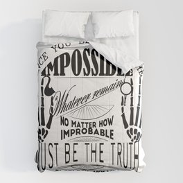 Sherlock Holmes Comforters