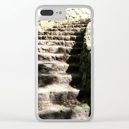 Stairway to Somewhere Clear iPhone Case