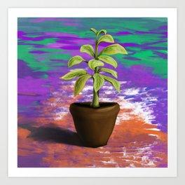 plantpot Art Print