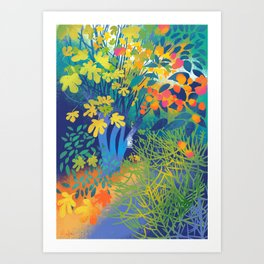 The Fig Tree Art Print