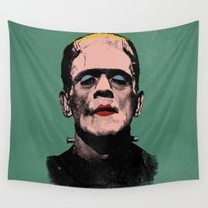 The Fabulous Frankenstein's Monster Wall Tapestry