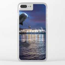 The Whale Lisbon Clear iPhone Case