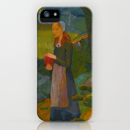 Madeleine Bretonne by Paul Sérusier iPhone Case