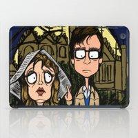 brad pitt iPad Cases featuring Oh Brad by Natalie Easton