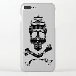 Bitter Bone Skulls: Elevator Clear iPhone Case