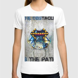 Rise The Obstacle Is The Road T-shirt