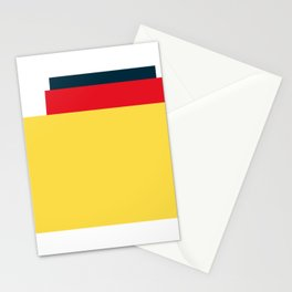Mid Century Modern Vintage 25 Stationery Cards