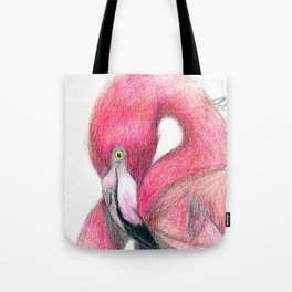 Flamboyant Flamingo Tote Bag