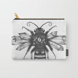 Quartz Queen Bee Carry-All Pouch