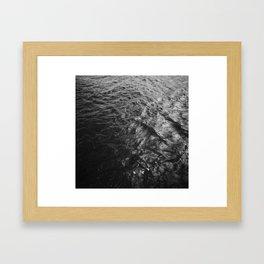 Shek-O Magical Place - 海面 Sea surface Framed Art Print