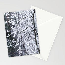 Snowy Tree Branches Winter Scene #decor #society6 #buyart Stationery Cards