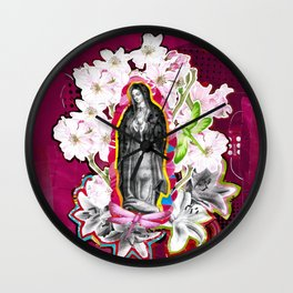 Nossa Senhora de Guadalupe (Our Lady of Guadalupe)  Wall Clock