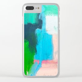Pacific Ocean, No. 1 Clear iPhone Case