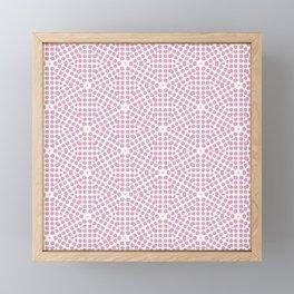 Spring Bloom Pink Framed Mini Art Print