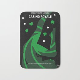 No277-007-2 My Casino Royale minimal movie poster Bath Mat