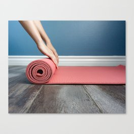 Ready To Yoga! Canvas Print