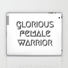 Glorious Female Warrior Laptop & iPad Skin