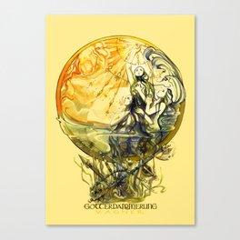 GOTTERDAMMERUNG - WAGNER- OPERA Canvas Print