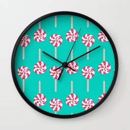 Lolli Pep Wall Clock