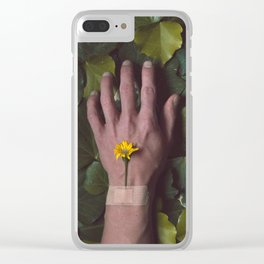 The Cure Clear iPhone Case