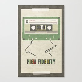 High Fidelity Canvas Print