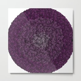 purple hearts Metal Print
