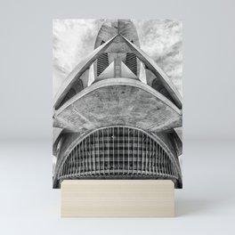 City of Arts and Sciences V | C A L A T R A V A | architect | Mini Art Print