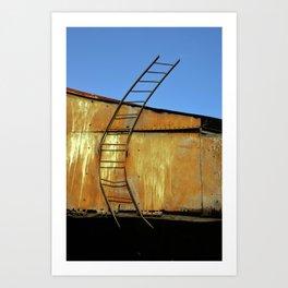 Ladder to Nowhere Art Print