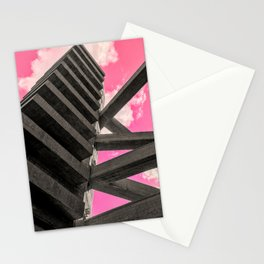 Pink Sky in Sao Paulo 5 Stationery Cards