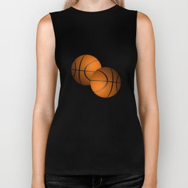 Basketball Sports Design Biker Tank