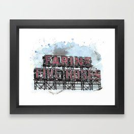 Farine Five Roses - Griffintown Framed Art Print