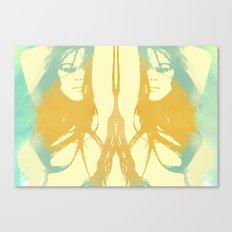 Monica Bellucci x 2 Canvas Print