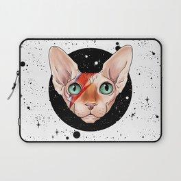 Sphynx Bowie Laptop Sleeve