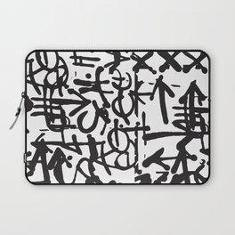 Graffiti Pattern Laptop Sleeve