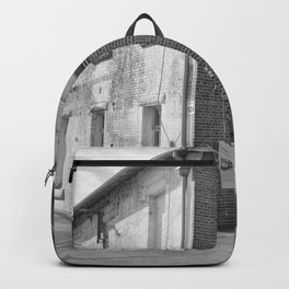 Brick Warehouse Building Backpack