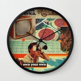Retrica Wall Clock