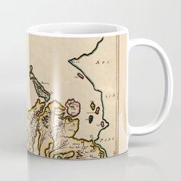 Map Of The Isle Of Skye 1654 Coffee Mug