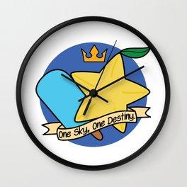 One Sky, One Destiny. Wall Clock