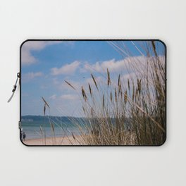 walk by the beach Laptop Sleeve