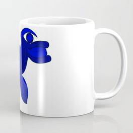 The Legend of the Blue Dog Coffee Mug